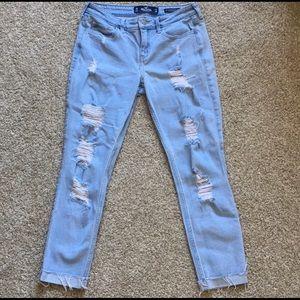 Hollister Jeans Super Skinny Crop